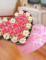 Holiday's Day Gift Romantic 27pcs Love Rose Soap Flowers Box