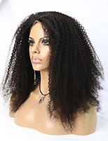 Hot Selling 8A grade 100% Human Hair Afro Kinky Curly Full /Lace Front Wig For Black Women