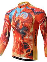 XINTOWN Cycling Jersey Men's  Cycling Clothing MTB Long Sleeve Bike Jersey