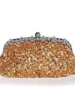L.WEST® Women's Handmade High-grade Light Snowflake Diamonds Party/Evening Bag