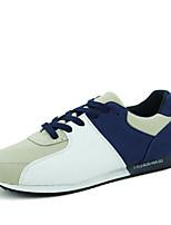 Zapatos de Hombre-Sneakers a la Moda-Exterior / Casual-Ante / Tejido-Negro / Azul / Rojo