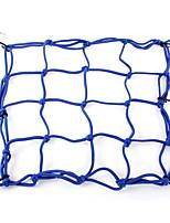rete di ragno blu elastico casco porta posteriore per il motociclo motorino