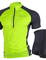 NUCKILY Summer Mountain Bike Cycling Clothes Suit Bike Clothes Riding Pants Clothing