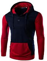 Herren Freizeit / Sport Activewear Sets - Patchwork Lang Kunstseide