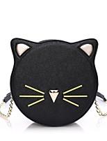 Women PU Baguette Shoulder Bag / Tote / Satchel-Pink / Black