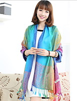 Colorful National Wind India And Nepal Shawl Scarf Scarves