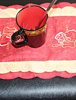 1 Poliéster Rectângular Toalhas de MesaHotel Mesa de Jantar / Favor Natal Decor / Tabela Dceoration / Favor Dinner Decor / Decorando o