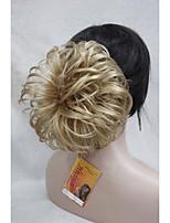 Golden Blonde Dome Wiglet Drawstring Ponytail 6