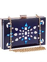 Women PU Baguette Clutch / Evening Bag / Wallet / Key Holder / Coin Purse-Black