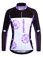 KEIYUEM®Unisex Long Sleeve Spring / Summer / Autumn Cycling Clothing  / Breathable  Quick Dry