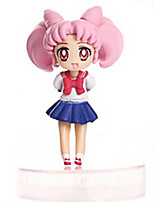 Sailor Moon Anime Action Figure 8CM Model Toys Doll Toy
