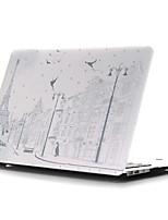 ingekleurde tekening ~ 18 stijl platte behuizing voor MacBook Air 11 '' / 13 ''