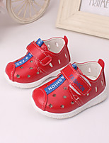 Baby Shoes Outdoor / Casual Leather Loafers Yellow / Red / White