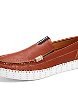 Men's Shoes Outdoor / Office & Career / Athletic / Casual PVC Loafers / Espadrilles Blue / Brown / White