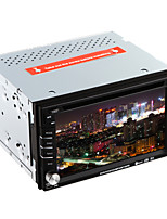 DVD Player Automotivo-2 Din-1024 x 600-6,2 Polegadas