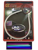 2 pezzi che emettono tubo del LED morbide evidenziare sopracciglio auto lampada led spia articolo 30 cm