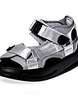 Women's Shoes   Platform Creepers / Open Toe Sandals Outdoor / Casual Black / Silver / Gold