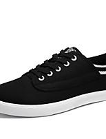 Zapatos de Hombre-Sneakers a la Moda-Exterior / Oficina y Trabajo / Casual-Semicuero-Negro / Azul / Amarillo