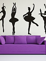 AYA™ DIY Wall Stickers Wall Decals, Ballet PVC Wall Stickers
