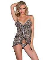 Women Ultra Sexy Nightwear,Organic Cotton / PU