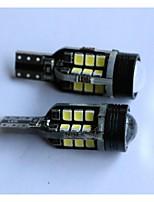 t15 2835-24smd + 1cree carro luz por sua vez invertendo lâmpada branca