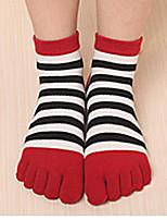 5 Baumwollsocken beiläufige Socken hohe Qualität des pairswomen für das Laufen / Yoga / Fitness / Fußball / Golf