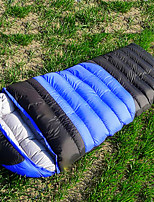 2500g Duck Down Polyester Lining Single Mummy Bag for Camping and Hiking
