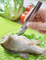 Stainless Steel Fish Bone Tweezers Puller Removal Clamp Pliers Pick Pig Hair Remover