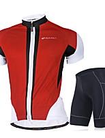 Conjuntos de Roupas/Ternos(Vermelho / Azul) - deEsportes Relaxantes / Ciclismo-Homens-Respirável / Resistente Raios Ultravioleta /