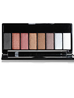 8 Eyeshadow Dry Eyeshadow palette Powder Normal Daily Makeup 1Pc