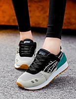 Scarpe Donna-Sneakers alla moda-Tempo libero / Casual / Sportivo-Comoda-Piatto-Di corda-Blu / Bianco / Grigio