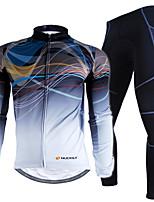 Conjuntos de Roupas/Ternos(Vermelho / Camuflagem) - deEsportes Relaxantes / Ciclismo / Motorbike / Triathlon / Corrida-Homens-Impermeável