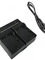 LPE6 Digital Camera Battery  Dual Charger for Canon 5D2 5D3 6D 7D 7D2 60D 70D