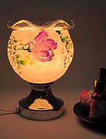2016 nueva cerámica aumentó la inducción aromaterapia luz de la lámpara llevado noche para los niños decoración del hogar de la habitación