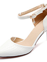 Women's Wedding Shoes Pointed Toe Sandals Wedding / Party & Evening / Dress Black / Red / White