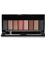 8 Palette de Fard à Paupières Sec Fard à paupières palette Poudre Normal Maquillage Quotidien
