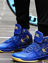 Zapatos Baloncesto Sintético Negro / Azul Hombre