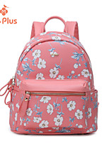 M.Plus® Women's Fashion Casual Print PU Leather Backpack