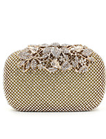 L.WEST® Women's Luxury High-grade Diamond And Flowers Party/Evening Bag