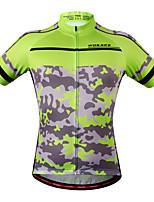 tops / Pulôver / Jersey(Camuflagem) - dePesca / Esportes Relaxantes / Ciclismo / Trilha / Sertão / Motorbike / Corrida-Unissexo-