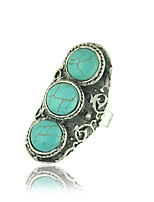 Women's / Unisex Alloy Ring Turquoise Alloy