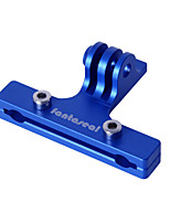 Fantaseal Aluminum Alloy Bike Bicycle Mount 2-Rail Saddle Seat Mount for GoPro Hero4/Hero3+/Hero3/Session Action Cameras