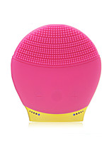 Mini Silicone Facial Brush for Facial Massage and Deep Cleaning