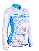 Tops(Azul) - deDeportes recreativos / Ciclismo / Campo Traviesa / Moto / triatlón-Impermeable / Transpirable / Permeabilidad a la humeda