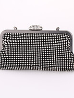 Women Formal / Event/Party / Wedding / Office & Career Metal Snap Tote / Clutch / Evening Bag / Wristlet / Cosmetic Bag