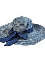 2016 Korea A Wide-brimmed Hat Big Bow