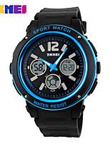 Sports Watch Men's LCD / Calendar / Water Resistant / Dual Time Zones / Sport Watch Digital