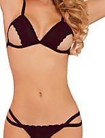 Women Matching Bralettes / Ultra Sexy Nightwear , Polyester