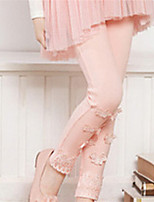 Girl's Pink Pants Cotton Spring / Fall