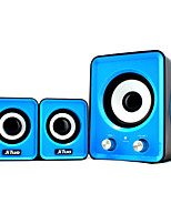 Jituo 2802 Portable USB Powered 2.1-channel Hi-Fi Stereo Computer Speakers bundled with 3